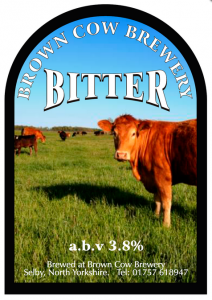 brown cow bitter