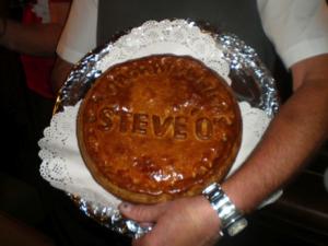 The pork pie!