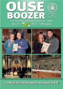 Ouse Boozer Spring 2015 123 Cover